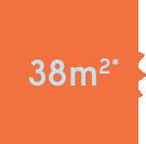 38 m2